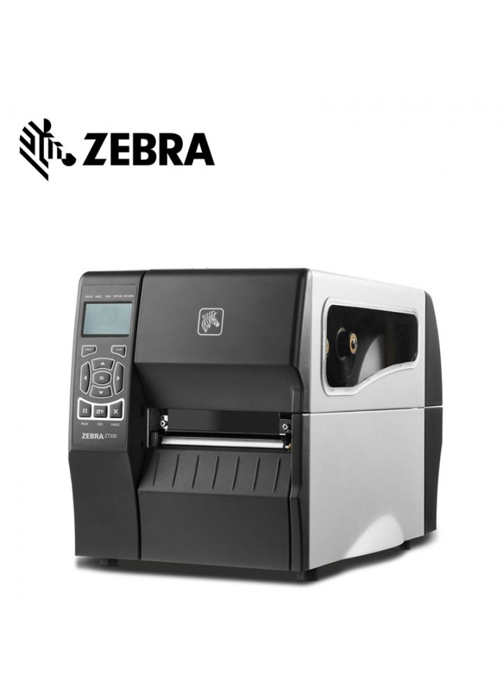 Zebra ZT230 Εκτυπωτής Ετικετών Θερμικής Μεταφοράς (203 DPI USB/Serial)