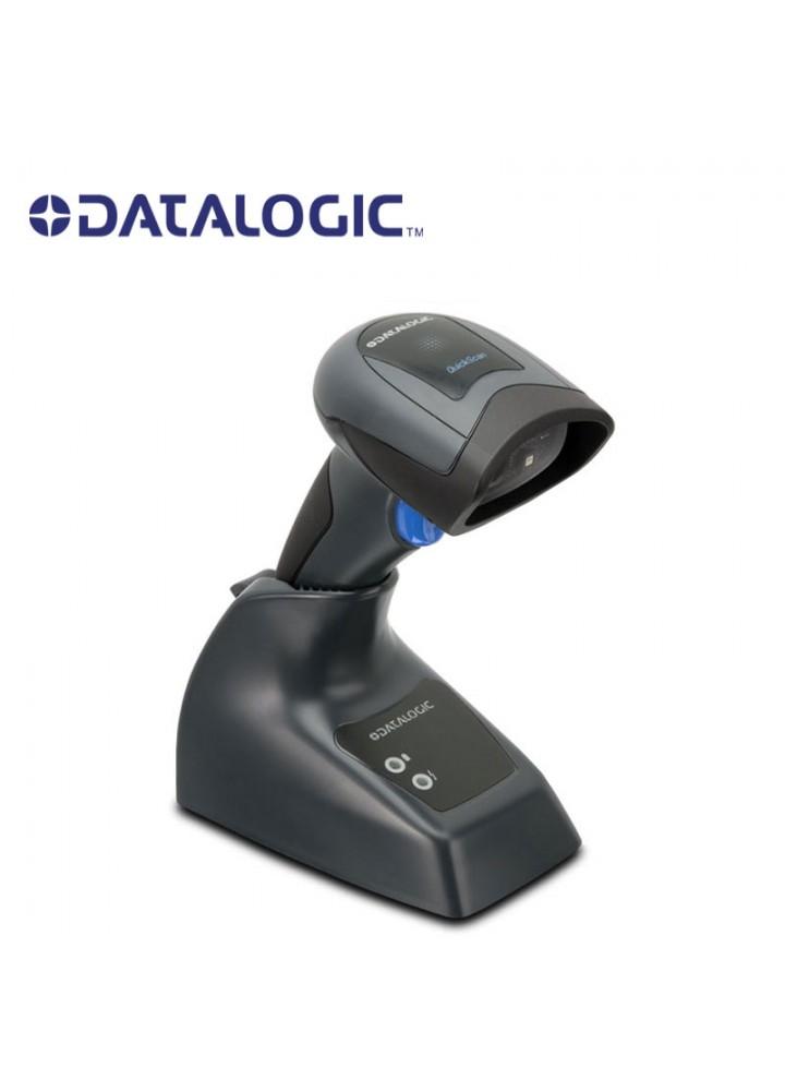 Datalogic QuickScan QM2430 Barcode Scanner, USB, Μαύρο με Βάση