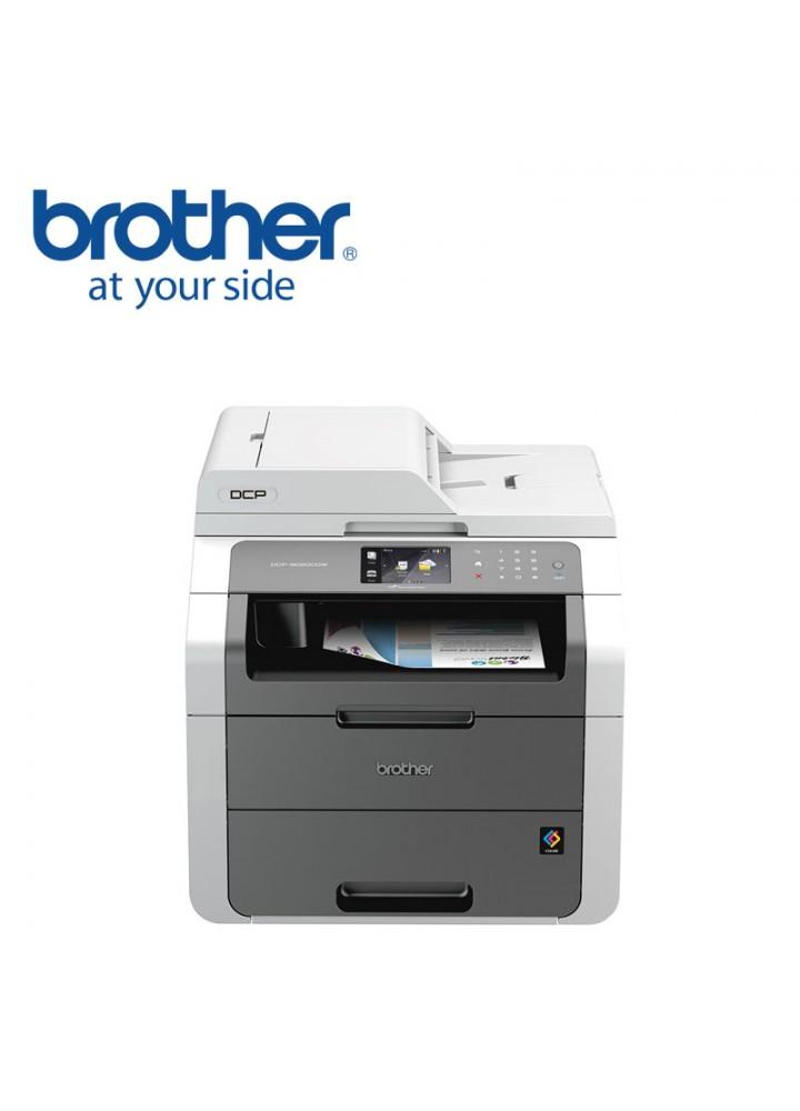 Brother DCP-9020CDW Έγχρωμο Πολυμηχάνημα LED, 3 σε 1, με Wi-Fi, Ethernet και Duplex