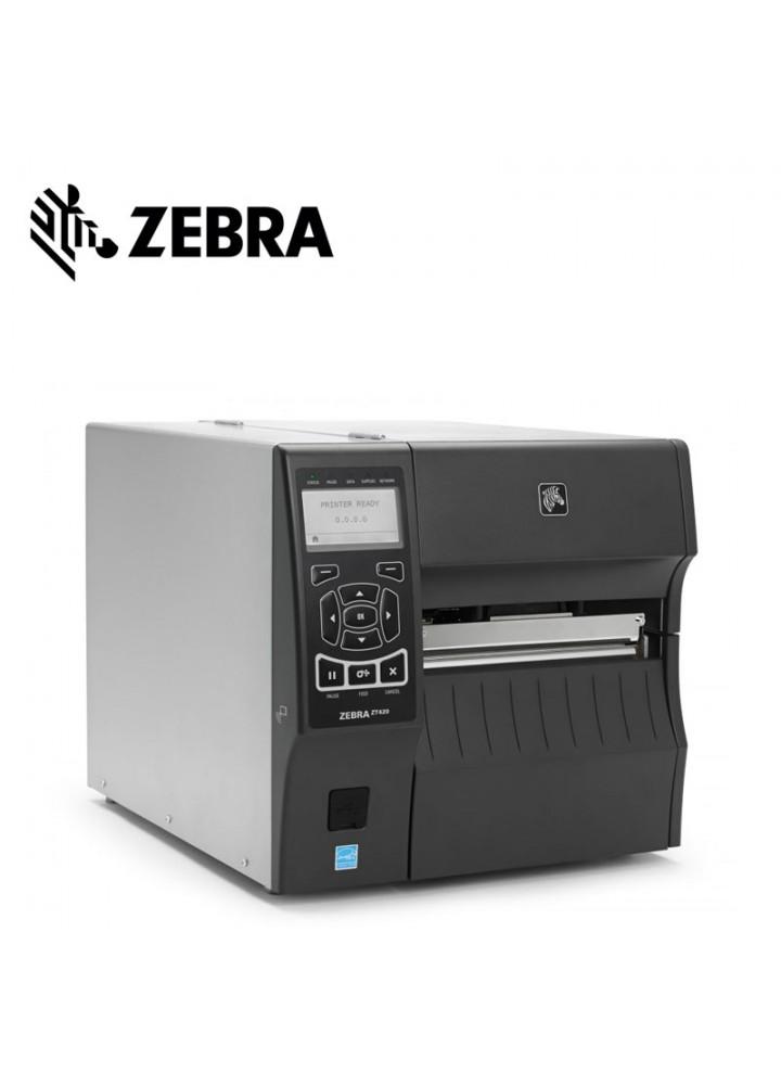 Zebra ZT420 Θερμικός Εκτυπωτής Ετικετών (203 DPI, USB, Serial, Ethernet, Bluetooth)