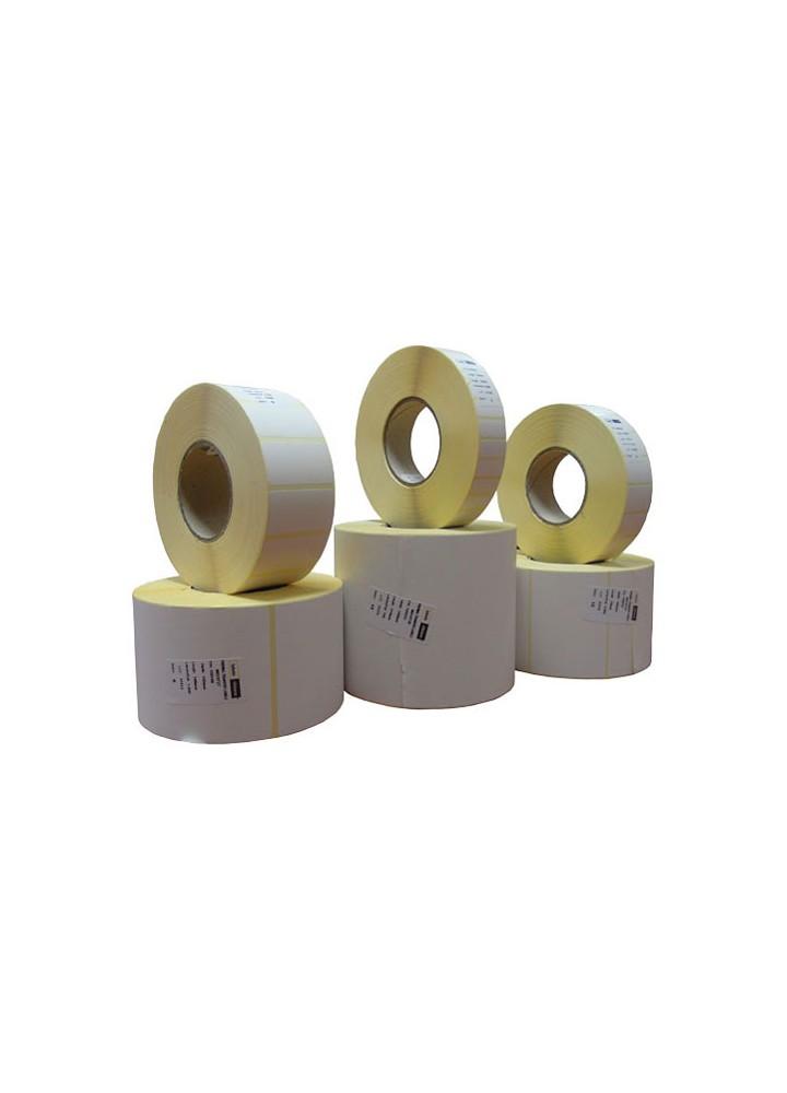 Χάρτινες αυτοκόλλητες ετικέτες θερμικής μεταφοράς 70mm x 60mm (8 ρολά / 19.200 ετικέτες)