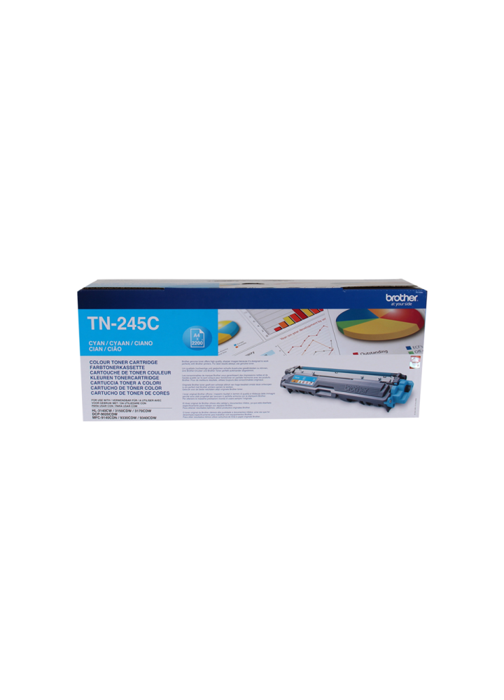 Brother TN-245C Cyan Laser Toner