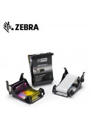 Έγχρωμη Μελανοταινία για Zebra ZXP1 Εκτυπωτές Πλαστικών Καρτών (100 όψεις)