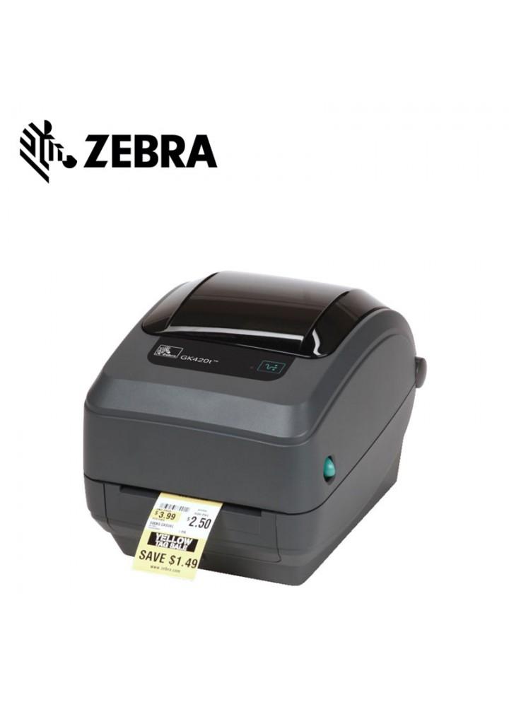 Zebra GK420d Ethernet Θερμικός Εκτυπωτής Ετικετών (203 DPI, USB, Serial, Ethernet)