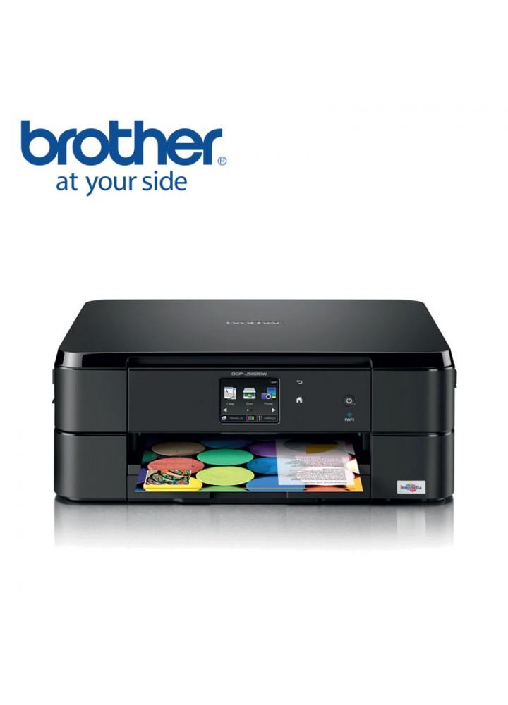 Brother DCP-J562DW Έγχρωμο Inkjet Πολυμηχάνημα, 3 σε 1, με Wi-Fi και Duplex